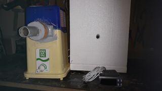 higrometro más humificador ultrasonido. incubadora