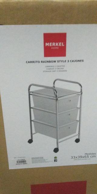 carrito/cajonera cocina, habitación o baño