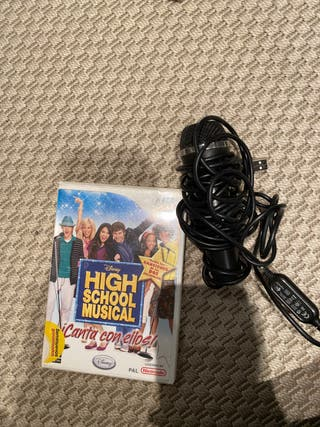 HIGH SCHOOL MUSICAL JUEGO WII