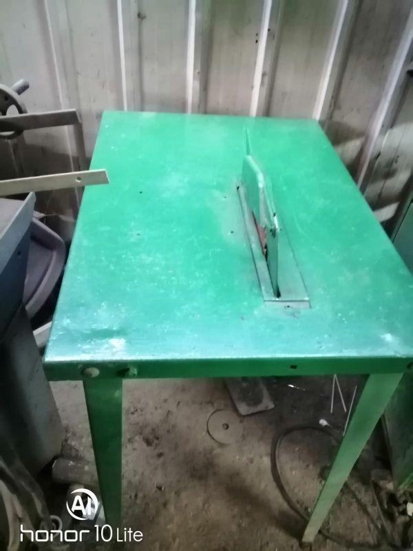 mesa cortadora de madera