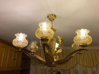 LAMPARA DE SALON CLASICA
