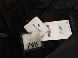 zara plumifero nuevo con etiquetas