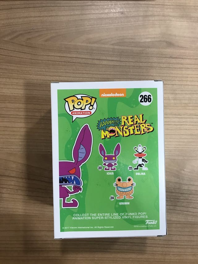 Ickis [266] Funko Pop Real Monsters