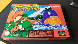 Yoshi's Island precintado sellado Snes