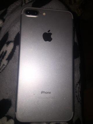 Vendo iphone 7 plus gris