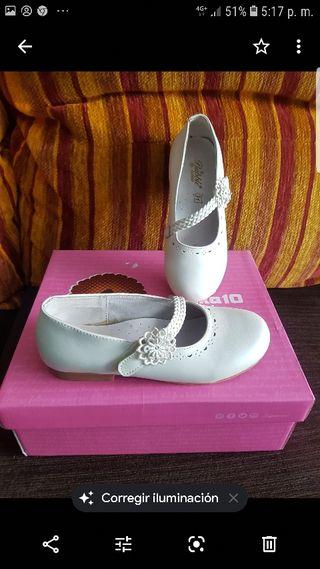 Zapatos de niña de comunion