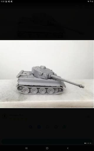 Maquetas de tanques, aviones a escala impresora 3d