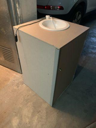 Mueble fregadero Camper + cajón almacenaje amplio
