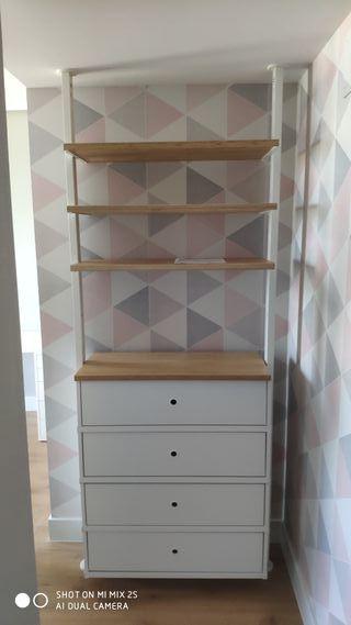 montaje estante ELVARLI Ikea + montamos cualquier