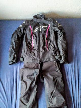 chaqueta y pantalón cordura Alpinestar chica