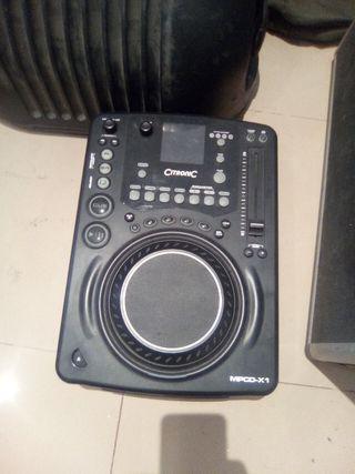 2 CD/MP3 PLAYER CITRONIC