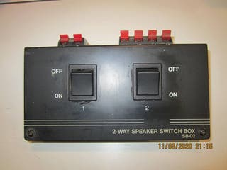 Switch de altavoces 1x2