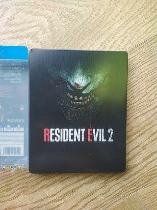 videojuego Resident Evil 2 PS4