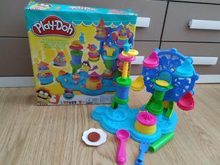 Fábrica cup cakes play-doh