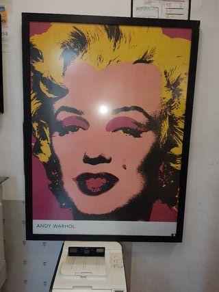 cuadro Marilyn Monroe de Andy Warhol