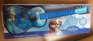 Guitarra disney frozen NUEVA A ESTRENAR