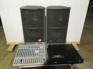 equipo JBL de sonido