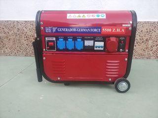 Generador Gasolina 5.500W 15L 100% NUEVO
