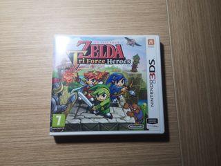 Zelda TriForce Héroe 3ds