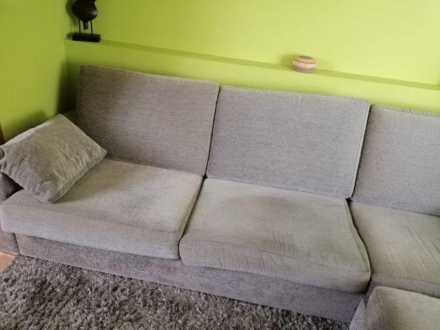 Sofa chaise long de segunda mano por 325 € en A Coruña en ...