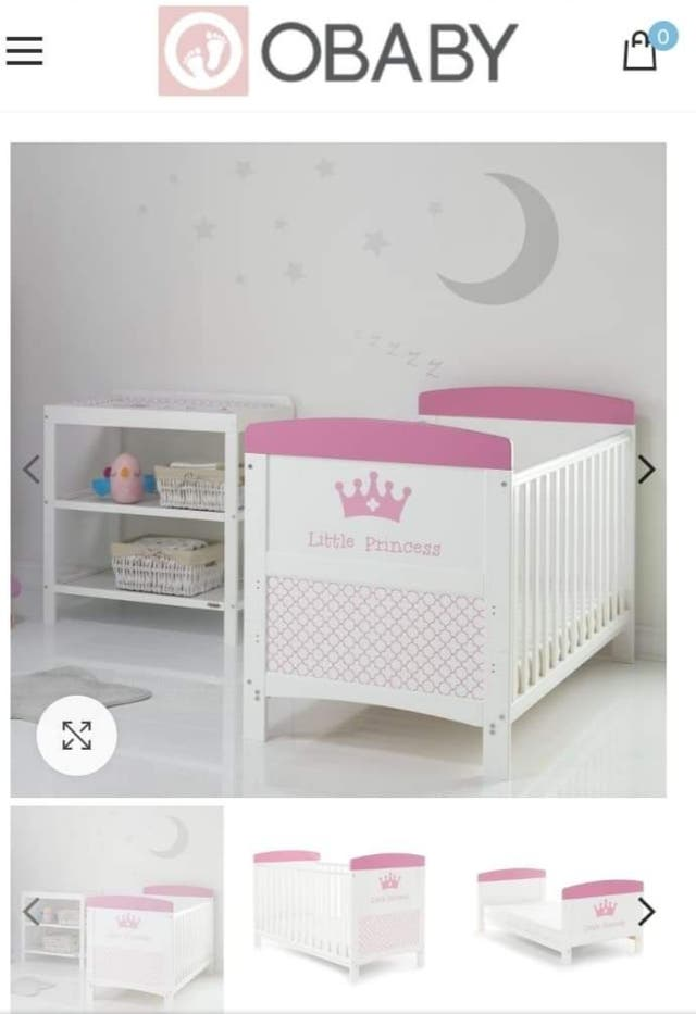 little princess cot bed