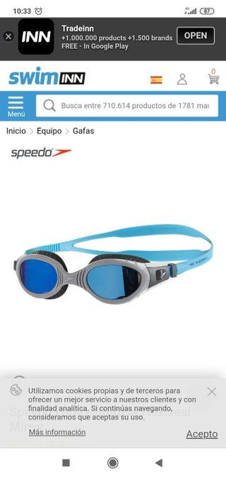 Gafas Natación Speedo