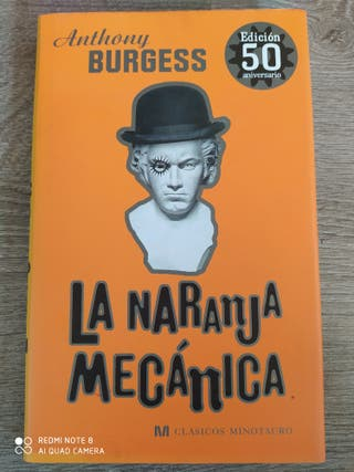 Libro La naranja mecanica,-Anthony Burgess
