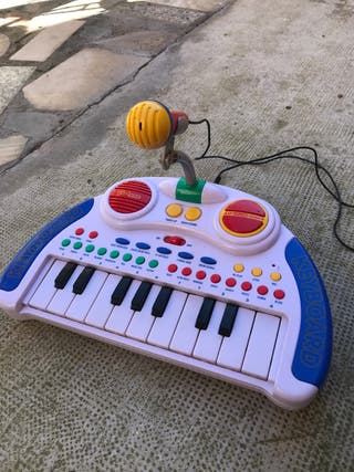 Teclado karaoke musical infantil