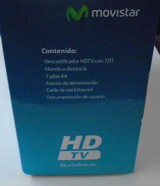 Decodificador HDTV con TDT Movistar