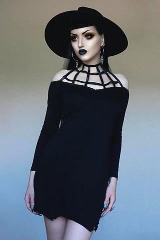 Vestido Telaraña Necessary Evil