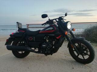 Um Renegade Vegas 125cc en Garantia