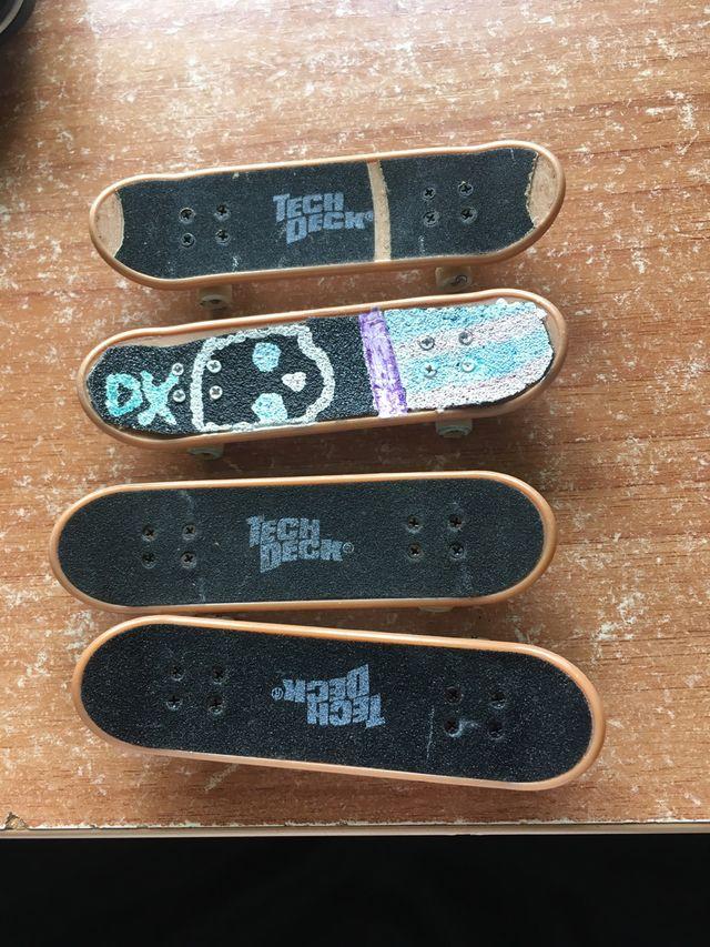 Skate de juguete TECK DECK y rampa de Tony Hack