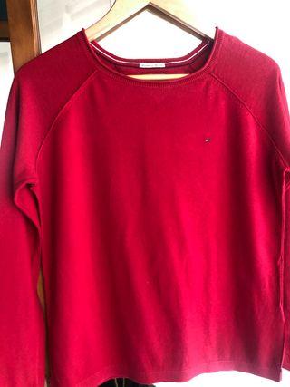 Jersey rojo Tommy Hilfiger