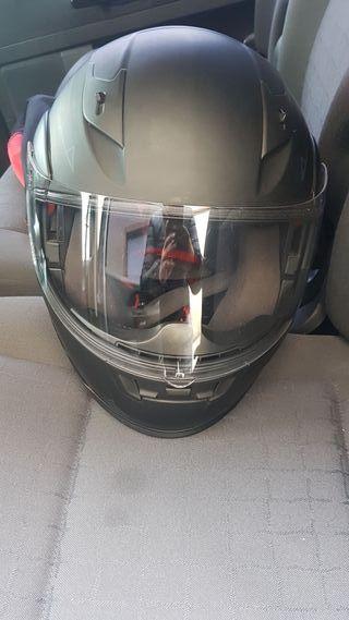 casco de moto Leopard