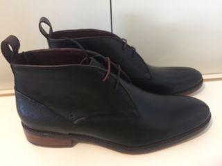 botines lujo TED BAKER nuevos piel negros T42