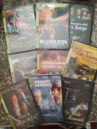 Colección DVDS CINE HISTÓRICO de AVENTURAS