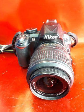 cámara digital réflex Nikon