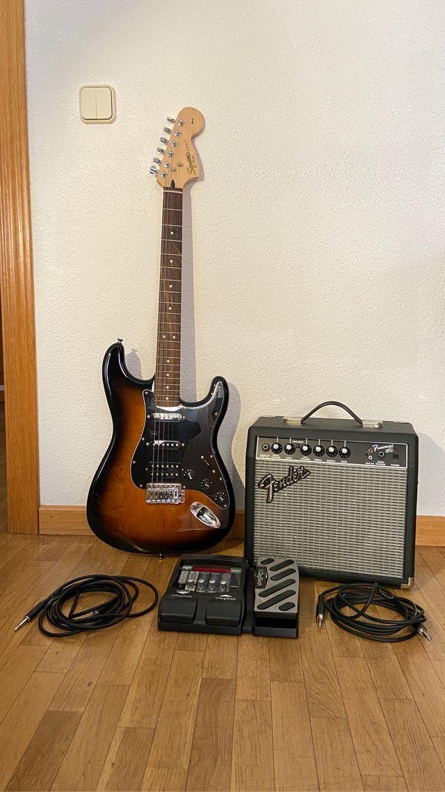 Pack de iniciación Guitarra eléctrica