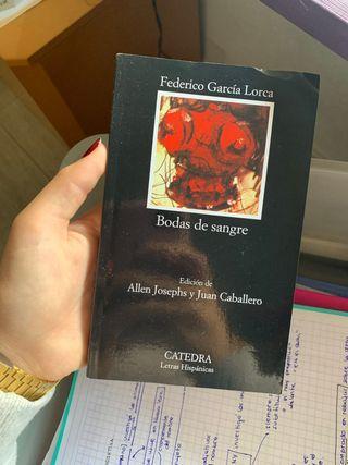 """libro """"bodas de sangre"""""""