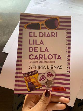 "libro ""el diari lila de la carlota"""