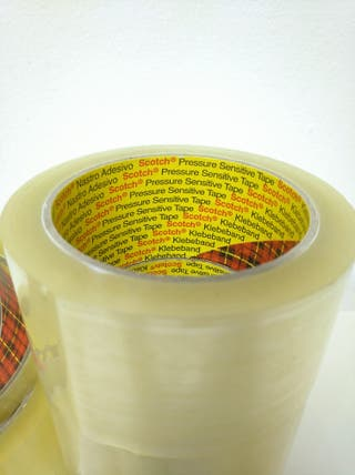 5 rollos cinta adhesiva 3M (alta calidad)