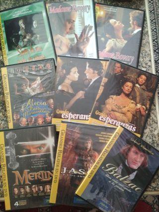 Colección DVDS GRANDES RELATOS