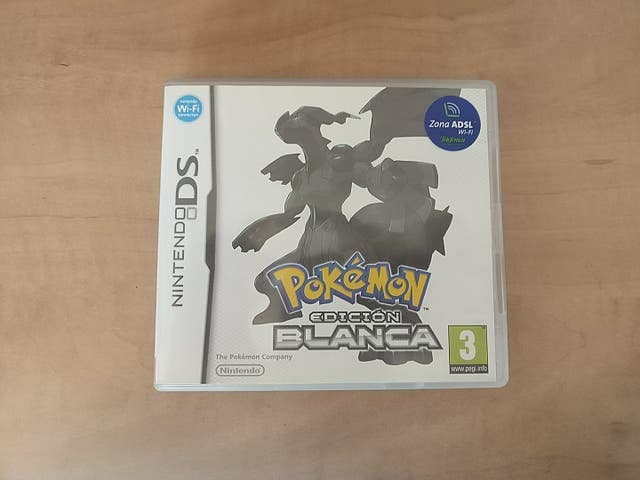 Pokemon edició Blanca Nintendo DS