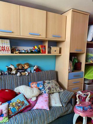 Dormitorio juvenil, infantil, despachó, invitados