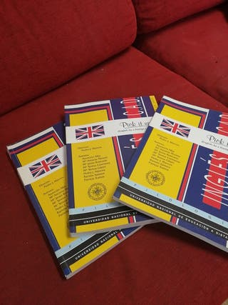 Libros Inglés Pick it UP, UNED
