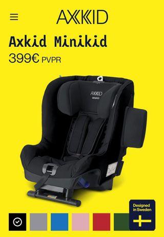 Axkid Minikid sillas coche a contramarcha