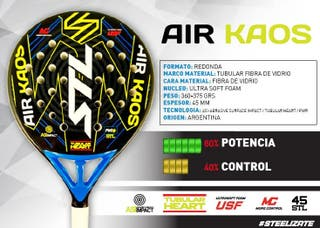 Pala Steel Custom AIR KAOS
