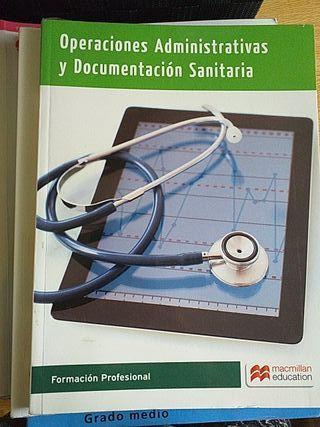 Libros grado medio Auxiliar de Enfermería