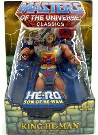 FIGURA MASTERS DEL UNIVERSO MOTUC KING HE-MAN