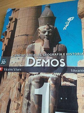 Libro Geografia e Historia 1ESO